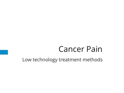 Cancer pain - low-tech preview